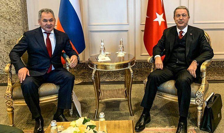 Bakan Akar Rus mevkidaşı ile İdlib'i görüştü