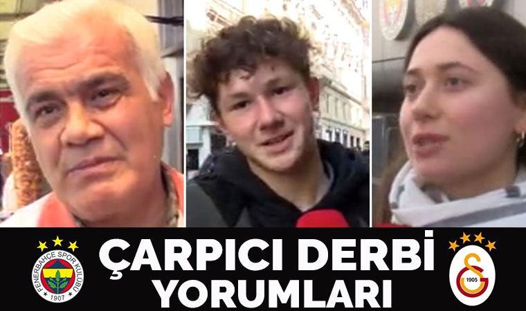 Taraftarlardan Fenerbahçe - Galatasaray derbisi yorumu