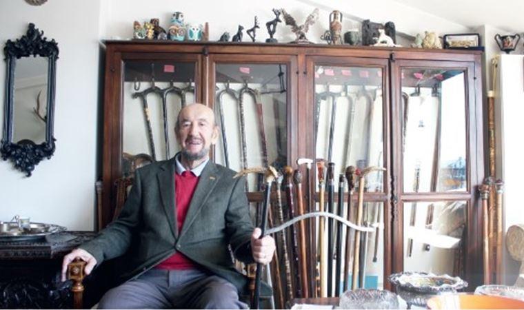 Erol Manisalı'nın bastonları
