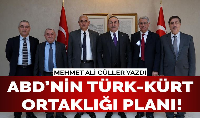 ABD'nin Suriye'ye karşı Türk-Kürt ortaklığı planı