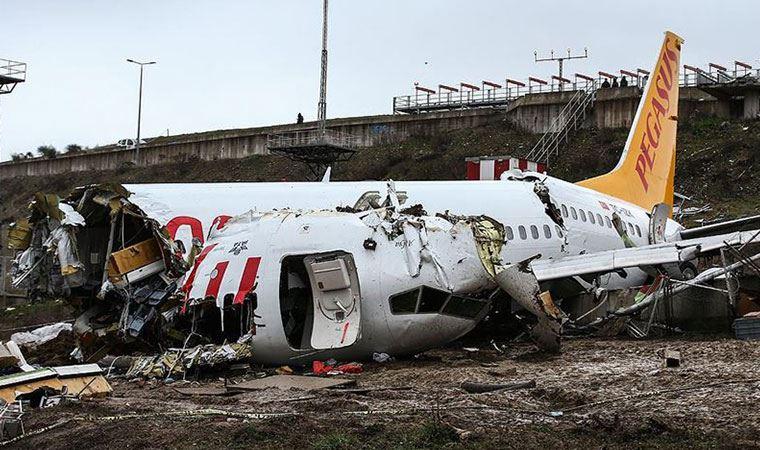 Sabiha Gökçen'de kaza yapan uçağın pilotu tutuklandı
