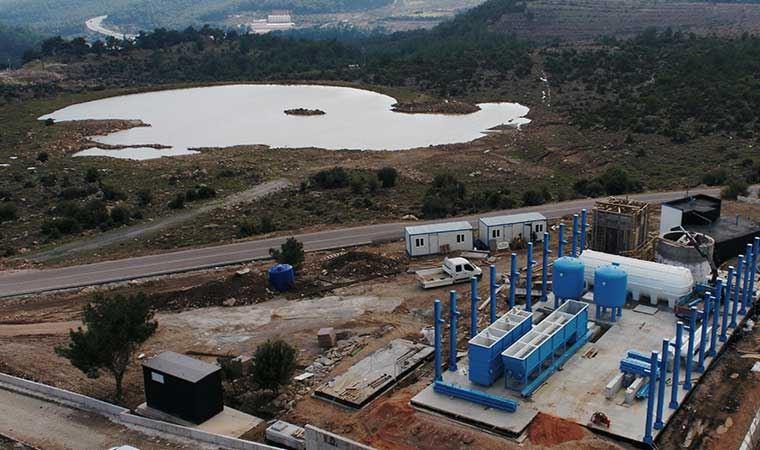 İzmir'in içme suyu ihtiyacı için bir tesis daha