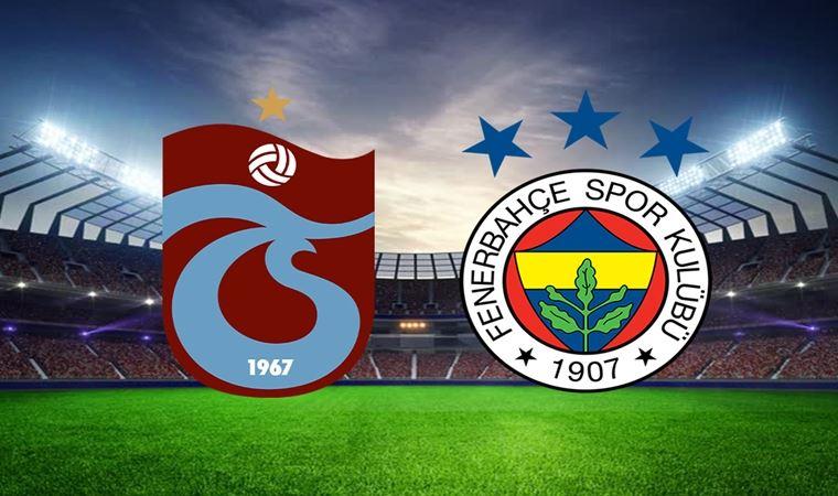 Fenerbahçe-Trabzon karşılaşmasında seyirci yasağı!