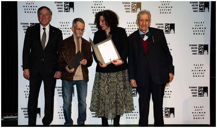 Talât Sait Halman çeviri ödülü verildi