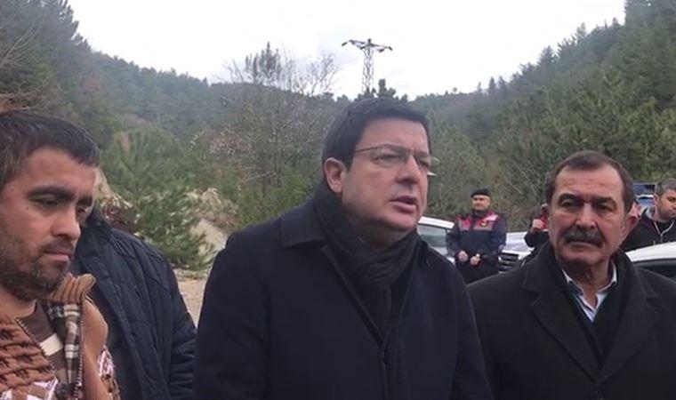 Maden işçilerine CHP'li Erkek'ten destek