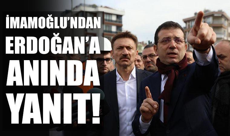 İmamoğlu'ndan Erdoğan'a