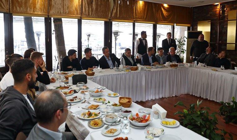 Başkan Koç'tan 'toparlanalım' yemeği