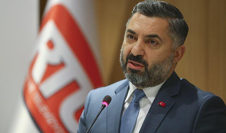 RTÜK Başkanı Şahin'den ''şehit haberleri