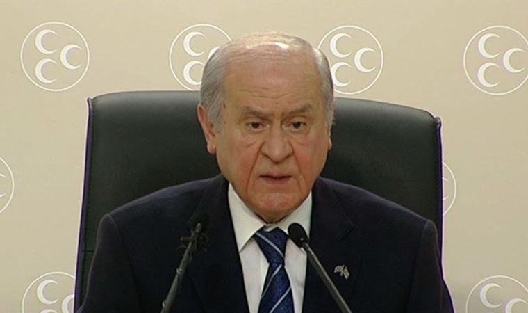 MHP Genel Başkanı Bahçeli'den idlib açıklaması