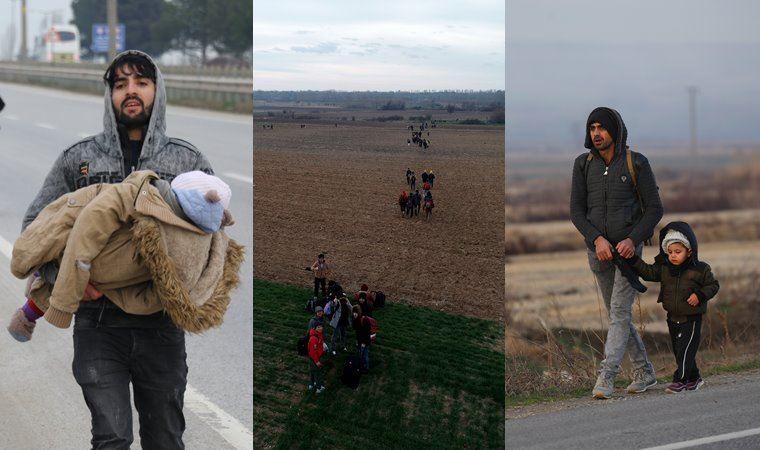 Türkiye, 'durdurmayacağız' dedi, mülteciler akın etti