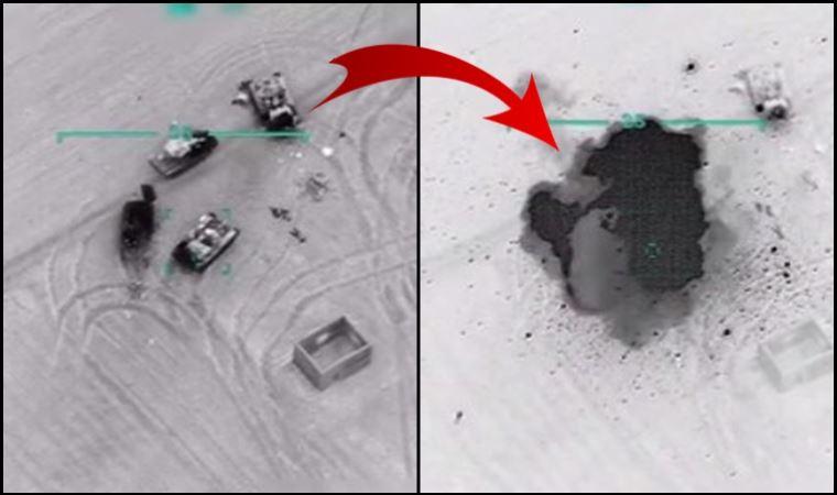 TSK, Suriye ordusunu böyle vurdu