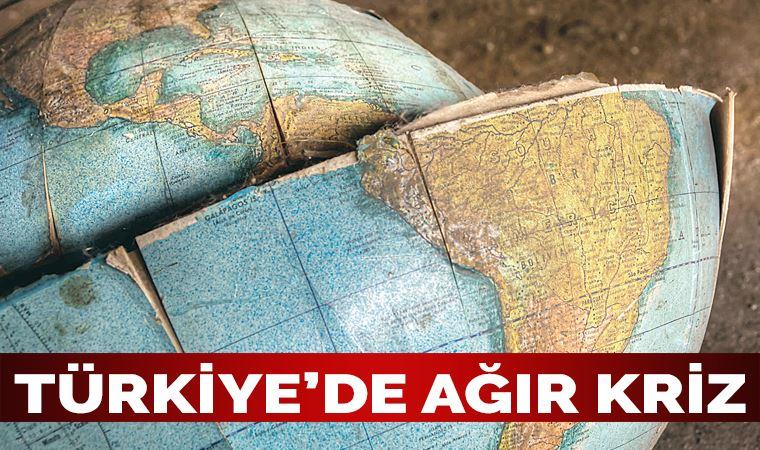 Yeni bir form kazanan küreselleşmenin etkisi Türkiye'de ağır kriz
