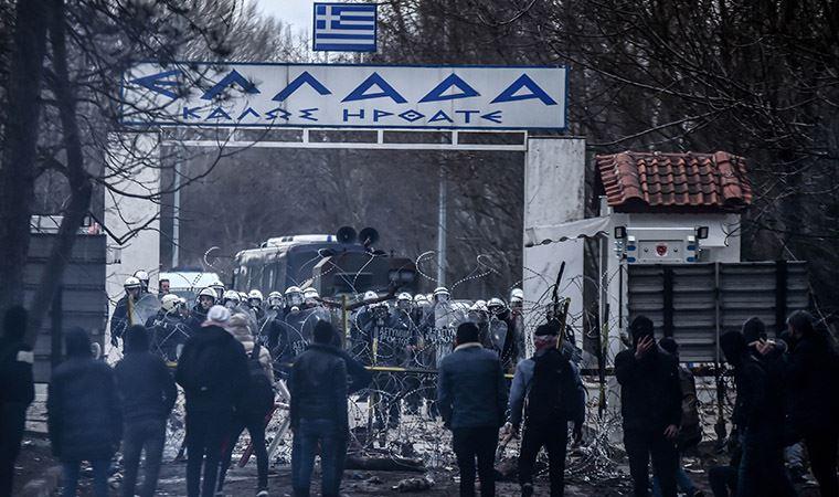 Yunanistan'dan göçmenlere gazlı müdahale