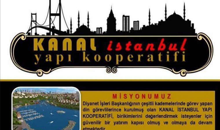 Ve Diyanet de Kanal İstanbul güzergâhına girdi