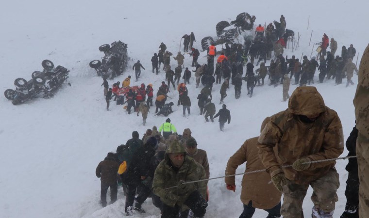 Felaket bölgesinden fotoğraflar