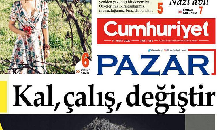 Cumhuriyet Pazar'da bu hafta