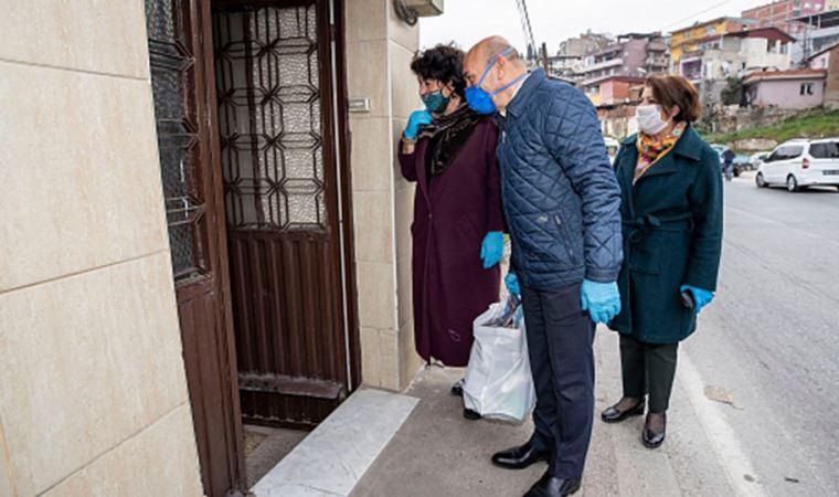 İzmir'de kapı kapı dayanışma