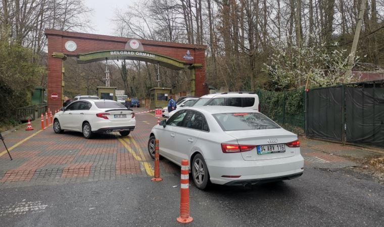 Belgrad Ormanı'na girişler kapatıldı