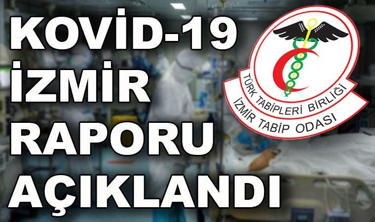 İzmir Tabip Odası'ndan 'koronavirüs İzmir raporu'