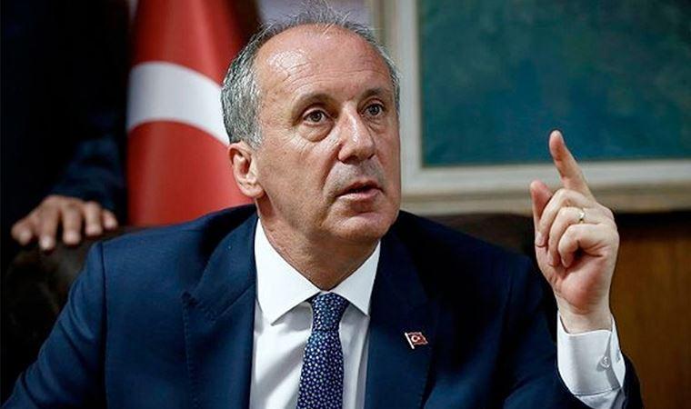 İnce'den Erdoğan'a çok sert tepki