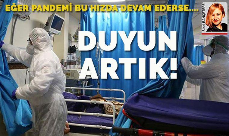 İstanbul Tabip Odası rapor hazırladı! Koronavirüs salgınında tehlike büyüyor