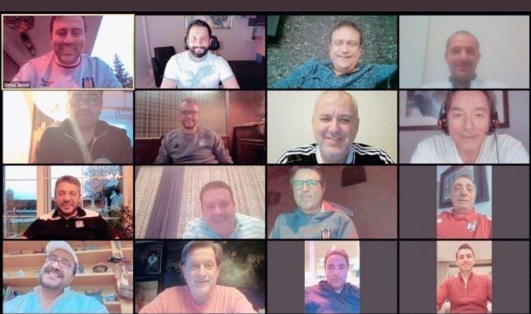 Beşiktaş yönetiminden video konferans