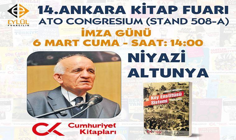 Altunya, 'Köy Enstitüsü Sistemi'ni imzalayacak