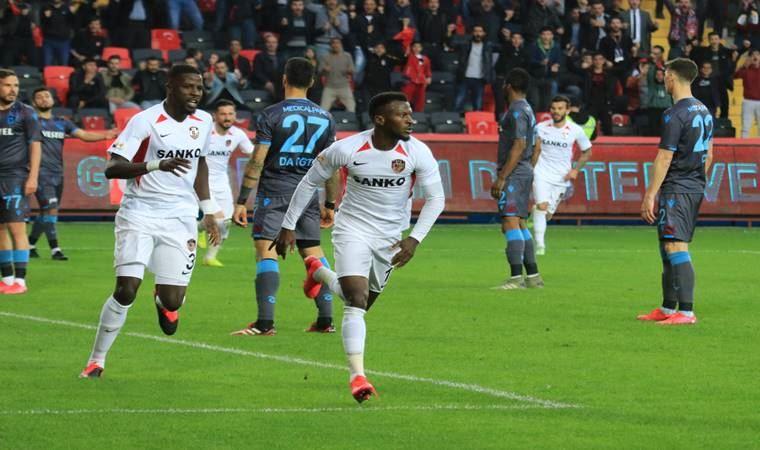 Trabzonspor'a Gaziantep freni!
