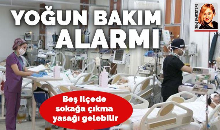 İstanbul'da yoğun bakım alarmı