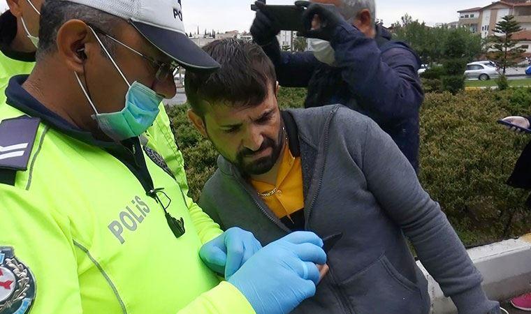 Polis kamera kaydını gösterdi, o ikna olmadı!