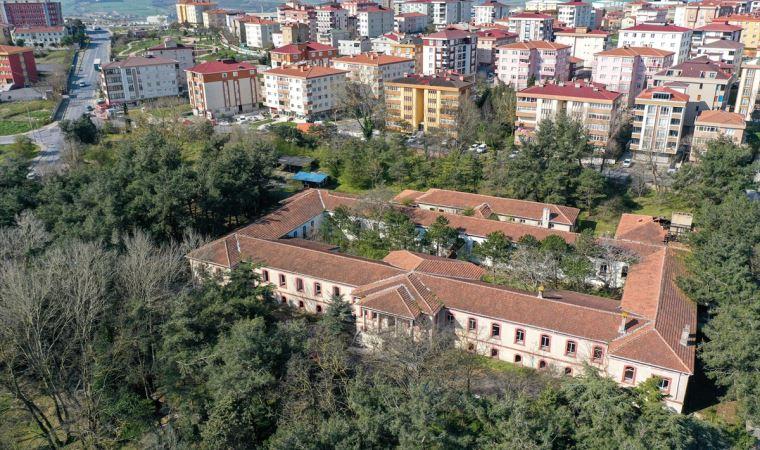 128 yıllık tarihi bina salgın hastanesi oluyor