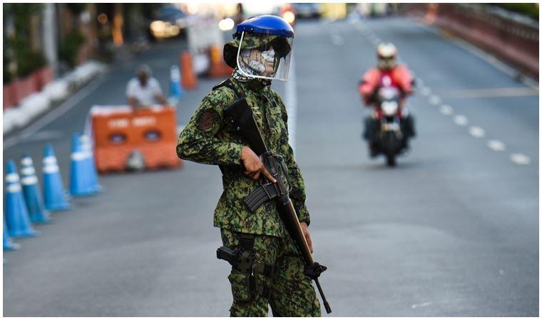 Filipinler'de sert karantina önlemi: