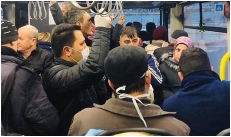 """İBB'den tartışma yaratan otobüsle ilgili açıklama: """"Yolcular o hattı ilk kez kullandı"""""""