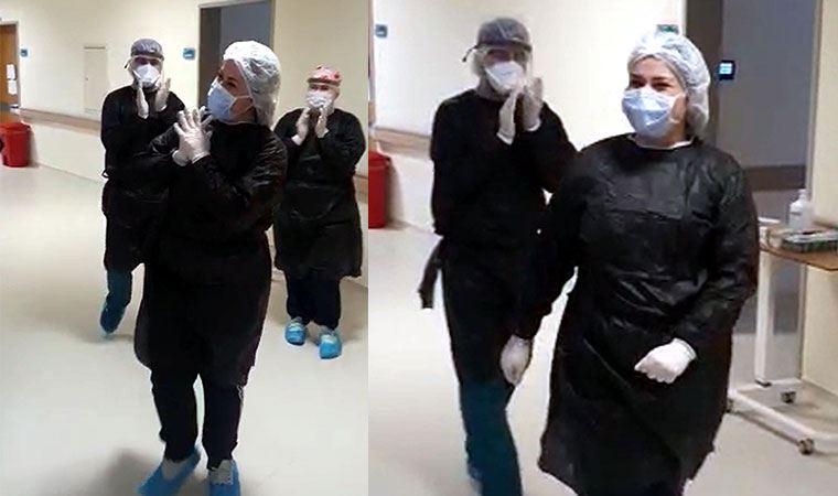 Koronavirüsü yendi! Bu görüntüleri paylaştı