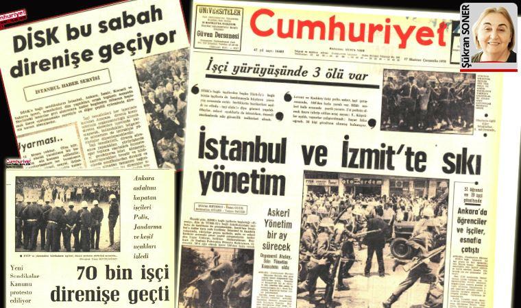 12 Mart'ın gazete kapatma, tutuklama operasyonları