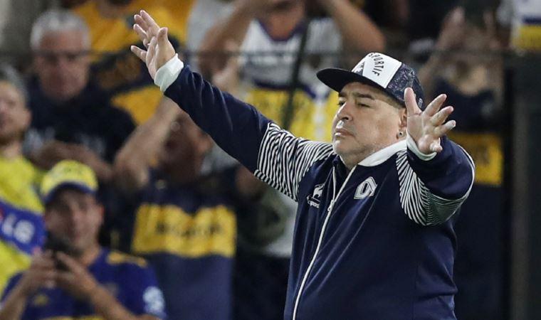 Maradona'dan 10 numara hareket