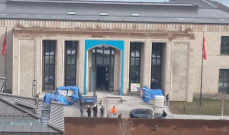 'Ahlat'taki Saray inşaatı tam gaz devam'