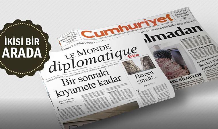 Le Monde Diplomatique Türkiye yarın Cumhuriyet'le