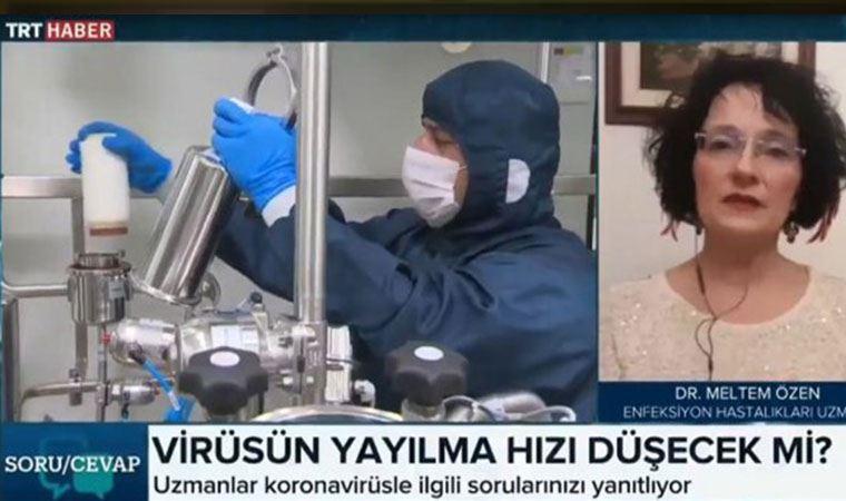 TRT'ye bağlandı, vaka sayısını açıkladı
