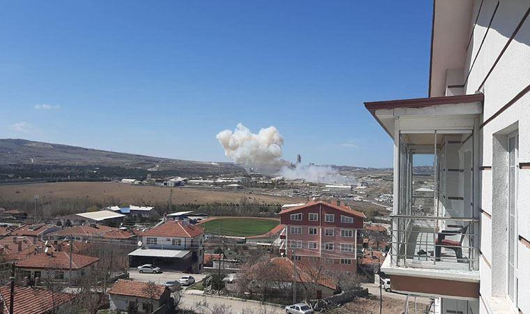 Roketsan'da patlama: Yaralılar var