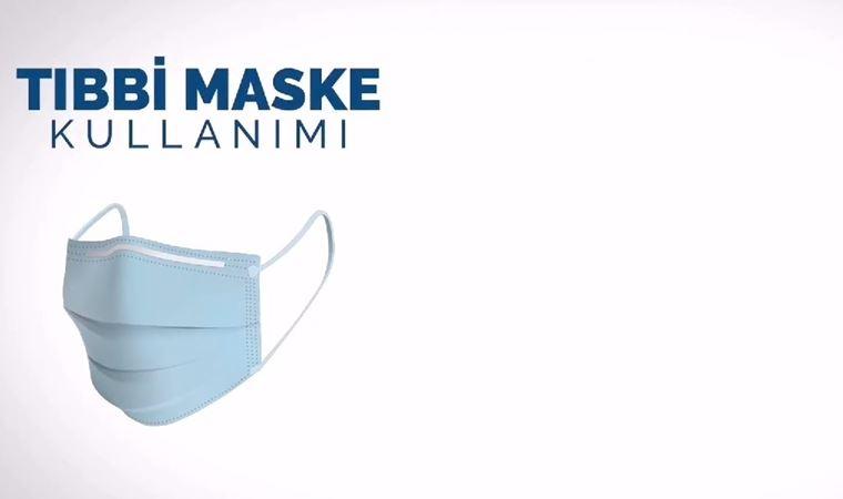 Sağlık Bakanlığı anlattı: Tıbbi maske nasıl kullanılır?