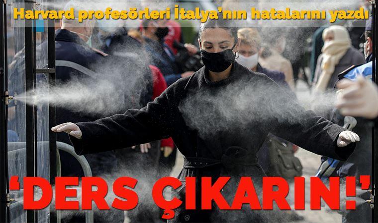 Profesörler, İtalya'nın hatalarını yazdı: Ders çıkarın