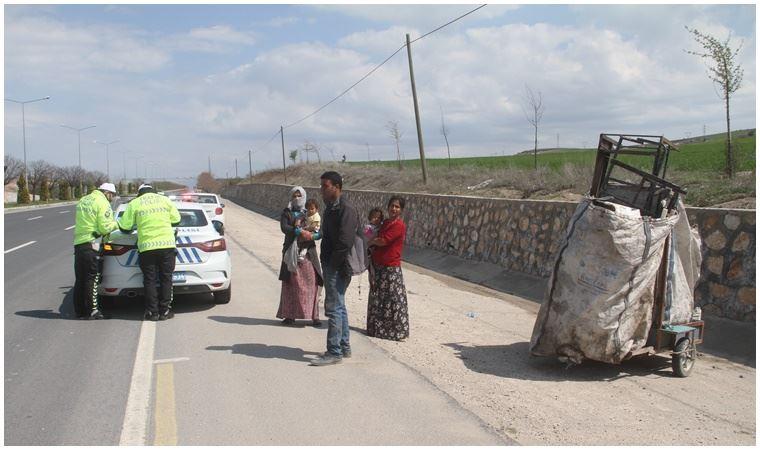 Çöpten hurda toplayan vatandaşa koronavirüs cezası