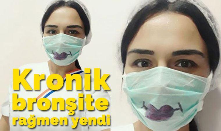 Kronik bronşitine rağmen koronavirüsü 7 günde yendi