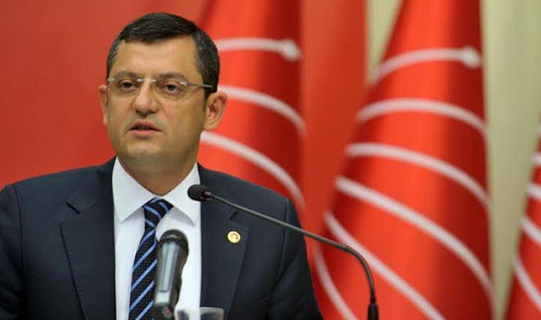 CHP'li Özel: Kendi anayasasını ilk çiğneyen de Erdoğan