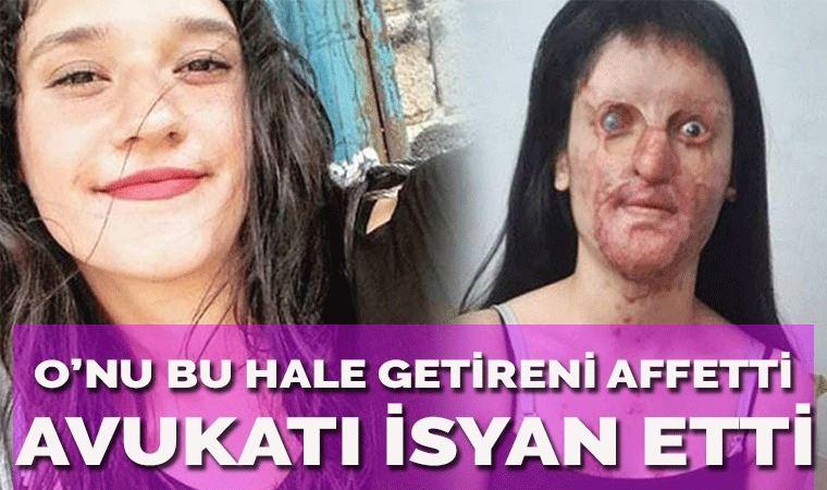 Berfin Özek, asitli saldırganı affetti