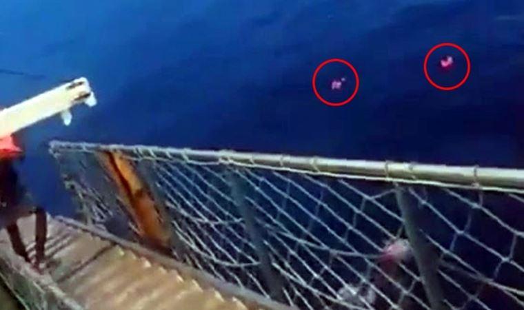 Feribotta büyük panik! Anonsu duyan denize atladı