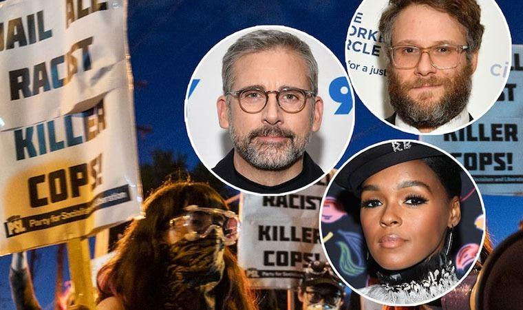 Hollywood yıldızlarından Minneapolis protestolarına destek ve bağış