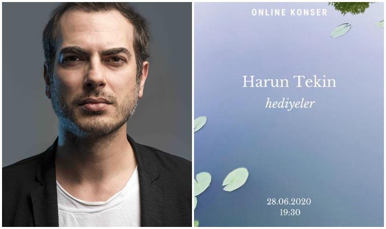 mor ve ötesi'nin solisti Harun Tekin'den dayanışma konseri