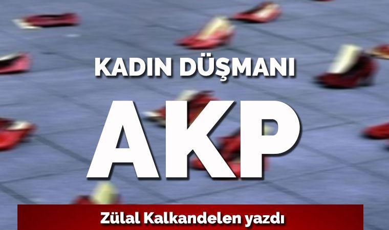 Kadın düşmanı AKP